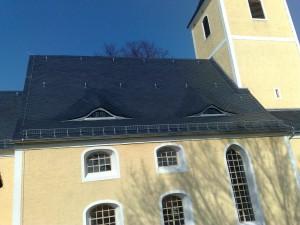 Kirche Fremdiswalde altdeutsche Deckung