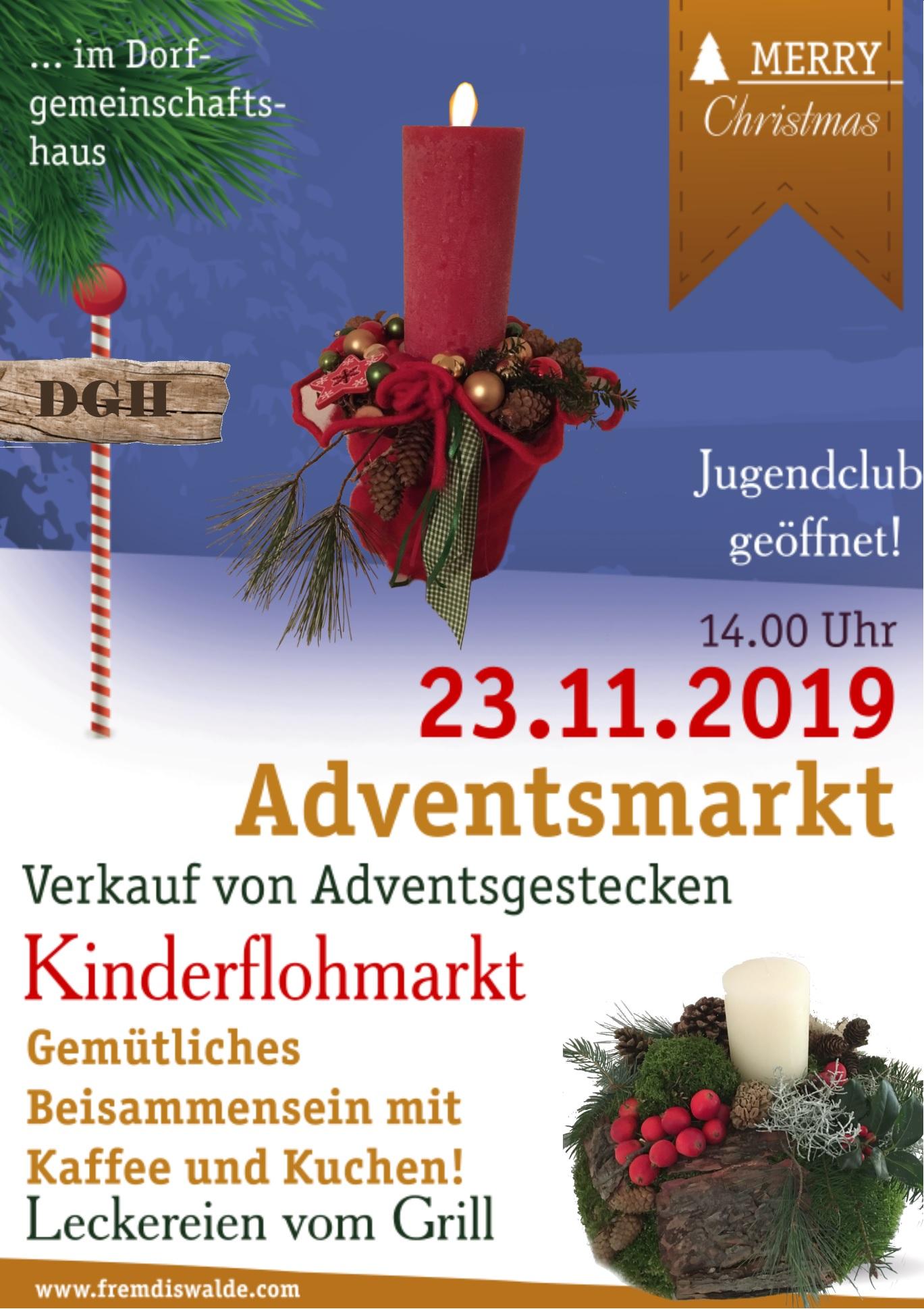 Adventsmarkt im Dorfgemeinschaftshaus